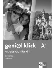 geni@l klick BG А1: Arbeitsbuch mit Audio CD Teil 1 / Работна тетрадка 1 по немски език със CD - 8. клас (интензивен) -1