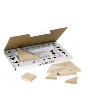 Дървена игра Goki - Танграм