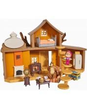 Комплект за игра Simba Toys Маша и мечока - Голяма къща на мечока