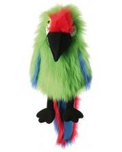 Кукла за куклен театър The Puppet Company - Големи птици: Зелено макао