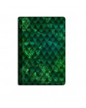 Текстилен калъф за Kindle Paperwhite With Scent of Books - Dragon treasure, Emerald Green