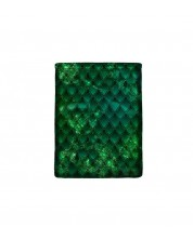Текстилен джоб за електронна книга With Scent of Books - Dragon treasure, Emerald Green