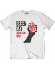 Тениска Rock Off Green Day - American Idiot