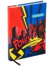 Тефтер Mitama А5 - Superhero, с текстилни корици