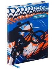 Тефтер Mitama А5 - BMX, с текстилни корици