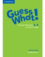 Guess What! Levels 3-4 Teacher's Resource and Tests CD-ROMs -1