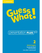 Guess What! Level 2 Presentation Plus British English -1