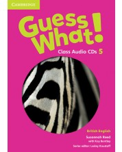 Guess What! Level 5 Class Audio CDs (3) British English -1