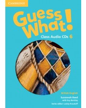 Guess What! Level 6 Class Audio CDs (3) British English -1