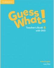 Guess What! Level 6 Teacher's Book with DVD British English -1