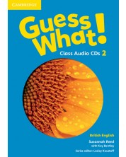 Guess What! Level 2 Class Audio CDs (3) British English -1