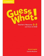 Guess What! Levels 1-2 Teacher's Resource and Tests CD-ROM British English -1