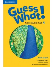 Guess What! Level 4 Class Audio CDs (2) British English -1