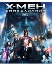 Х-Мен: Апокалипсис 3D (Blu-Ray)