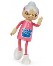 Детска играчка Hape - Модерно семейство, баба -1