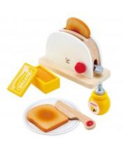 Дървена играчка Hape - Тостер