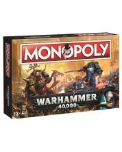 Настолна игра Hasbro Monopoly - Warhammer -1