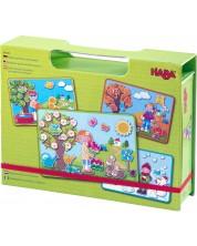 Детска магнитна игра Haba - Сезони, в кутия -1