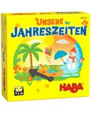 Детска настолна игра Haba - Сезони