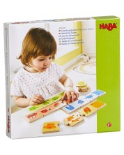 Детска пъзел-игра Haba - Съвпадения по цветове с животни и предмети