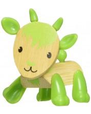 Детска играчка от бамбук Hape - Мини животинка Козле -1