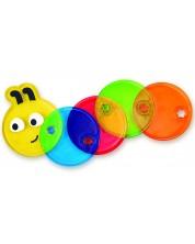 Игрален комплект Hape - Цветна гъсеница -1