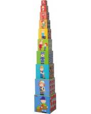 Игра с кубчета Haba - Превозни средства -1