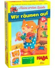 Детска игра Haba - Подреди стаята на котарака Типтоп -1