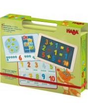 Детска магнитна игра Haba - Математика, в кутия -1