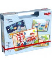 Детска магнитна игра Haba - Професии -1