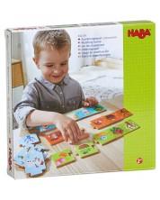 Детска пъзел-игра Haba - Съвпадения според сезона -1
