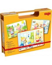 Детска магнитна игра Haba - Детска градина -1