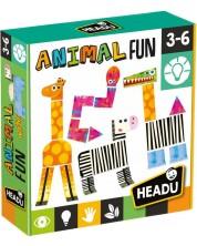 Творчески комплект Headu Montessori - Животни от саваната -1