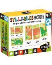 Образователна игра Headu - Работилница за срички -1