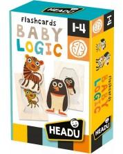 Образователни флаш карти Headu - Бебешка логика -1