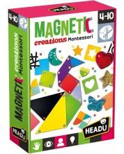 Творчески комплект Headu Montessori - Магнитни творения -1