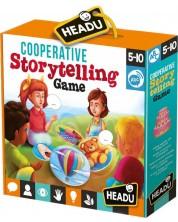 Кооперативна игра Headu Montessori - Разкажи приказка -1