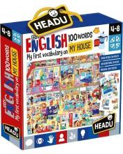 Образователен комплект Headu - Моята къща, първите 100 английски думи -1