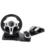 Волан с педали Tracer - Roadster 4 in 1, черен