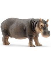Фигурка Schleich Wild Life - Хипопотам, стоящ