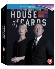 House of Cards - Seasons 1-3 (Blu-ray) -1