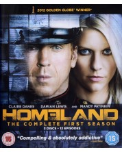 Homeland: Series 1 (Blu-Ray)