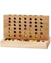 Дървена игра Gollnest & Kiesel - 4 в редица