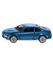 Метална количка Siku Private cars - Спортен автомобил BMW M3 Coupe, 1:72