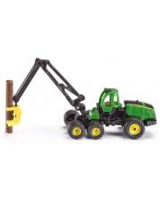 Метална количка Siku Agriculture - Харвестър John Deere 1470E, 1:87