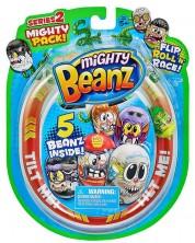 Игрален комплект Moose Mighty Beanz - Бобчета, сет от 5 броя, Серия 2 -1