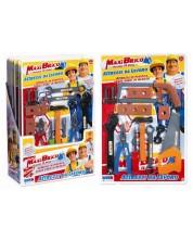 Игрален комплект RS Toys Maxi Brico, 14 части -1