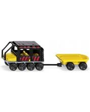 Метална количка Siku Super - Високопроходима машина Argo Avenger с ремарке, 1:87 -1