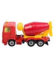 Метална количка Siku - Бетоновоз Scania, 8 cm -1