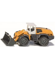 Метална играчка Siku Super - Багер-товарач Liebherr, 1:30 -1